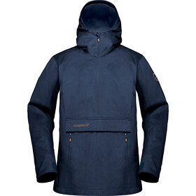 Norrøna Svalbard Cotton Anorak Dame indigo night